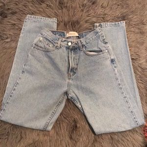 High waisted classic Gap jeans.